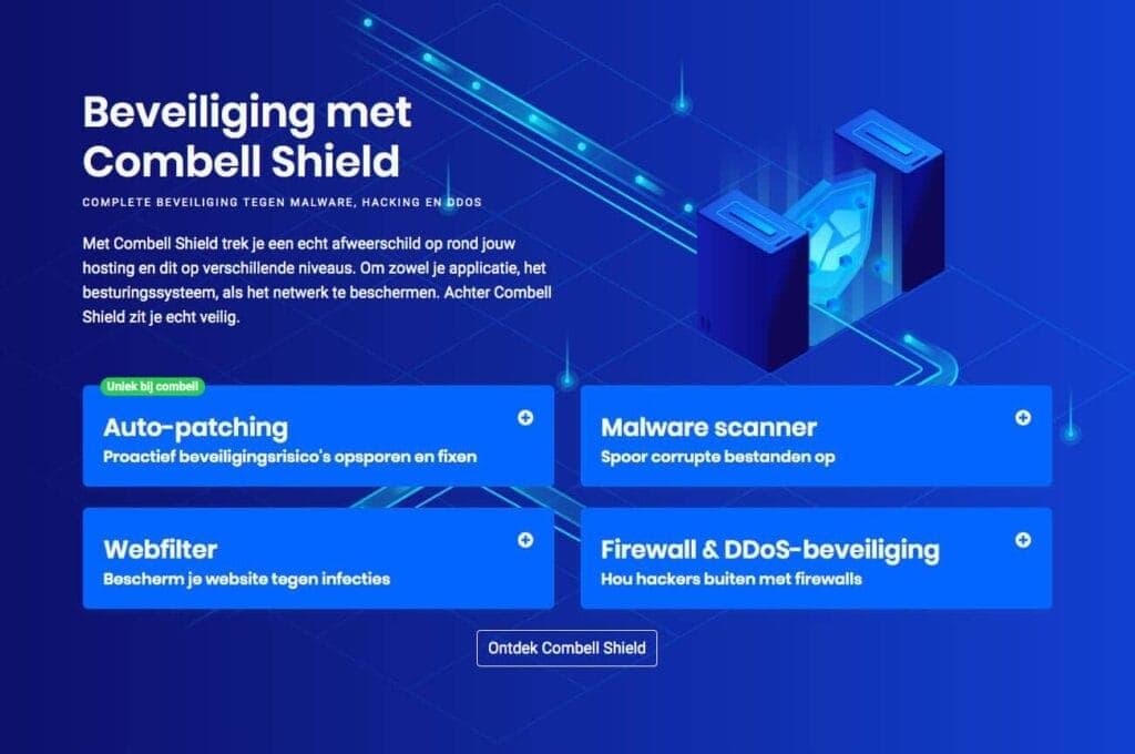 Combell shield overzicht