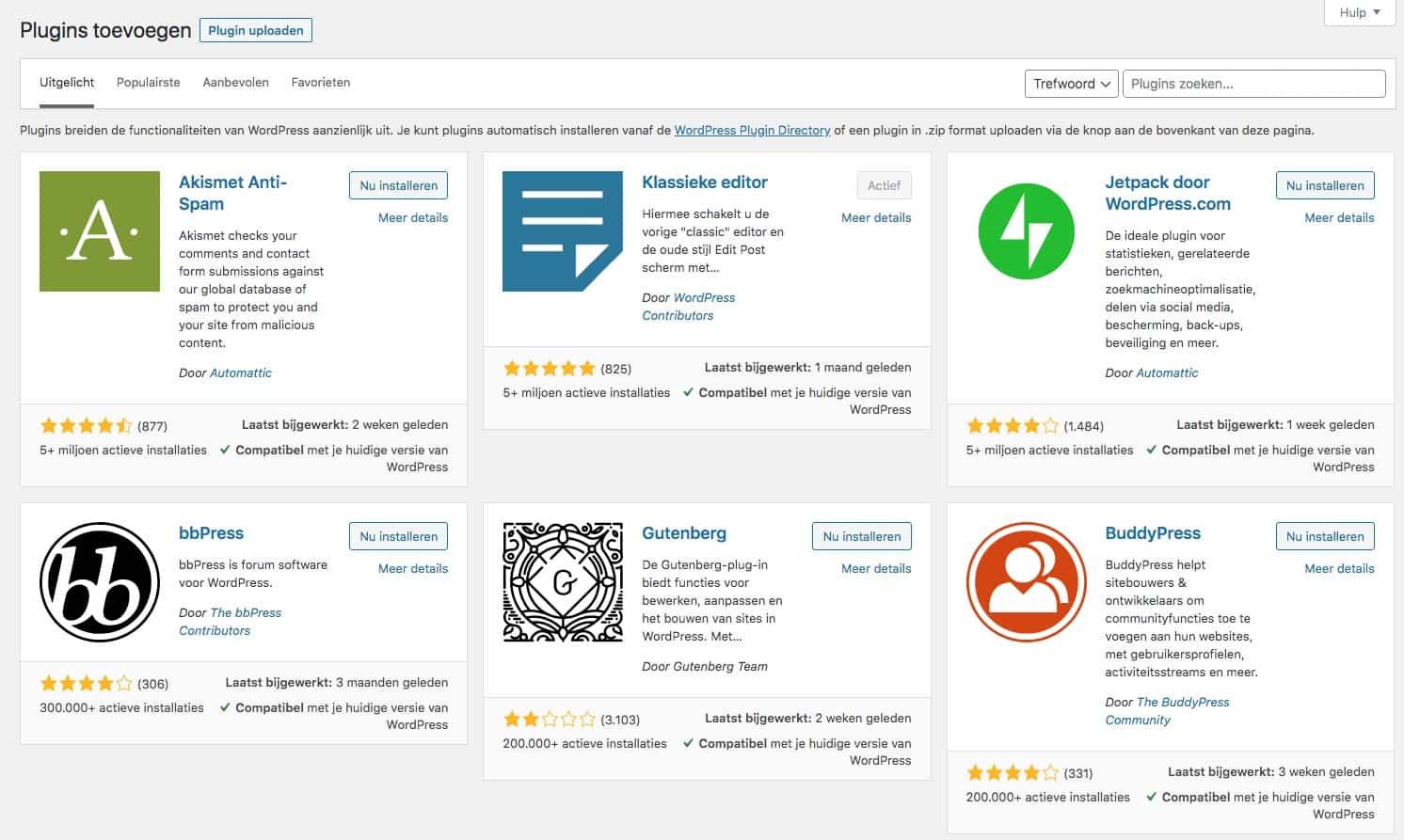 Wordpress plugin bibliotheek
