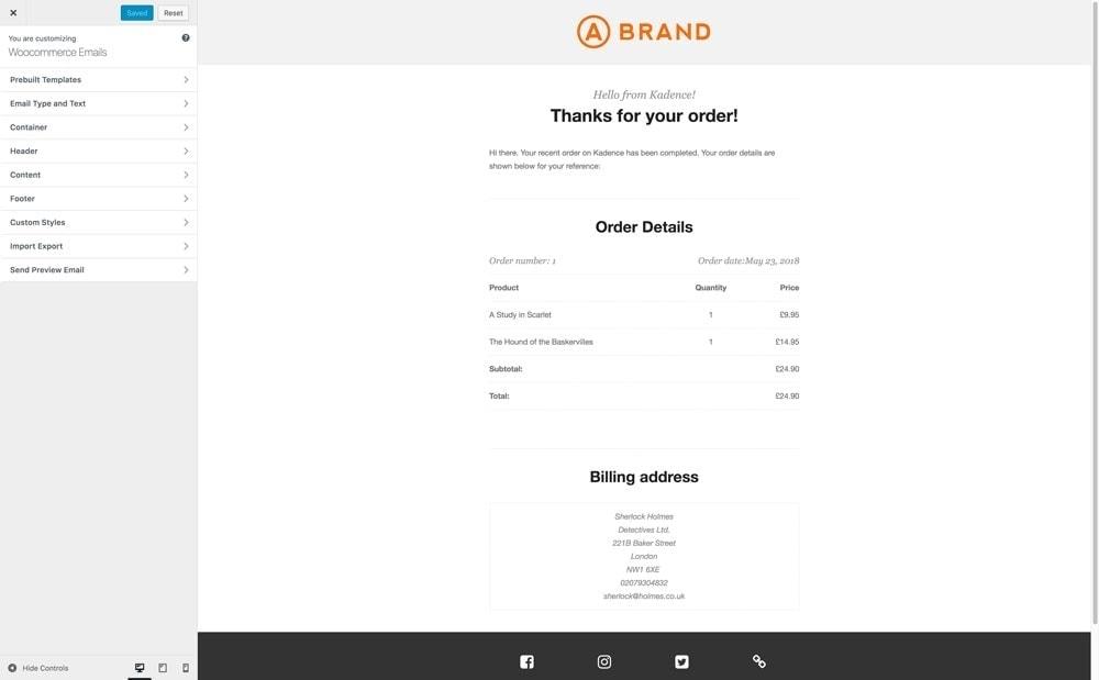 Kadence email designer 47
