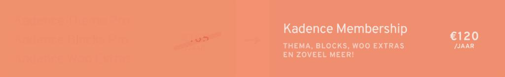 Kadence membership options 49
